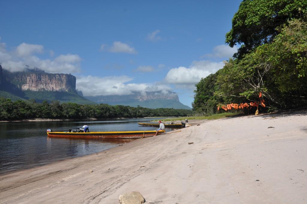 Zdjęcia: Park Narodowy Canaima, Pora na lunch, WENEZUELA