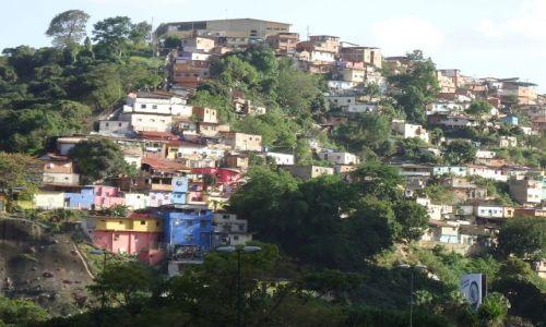 WENEZUELA / Caracas / Caracas / Wzgórza otaczające Caracas