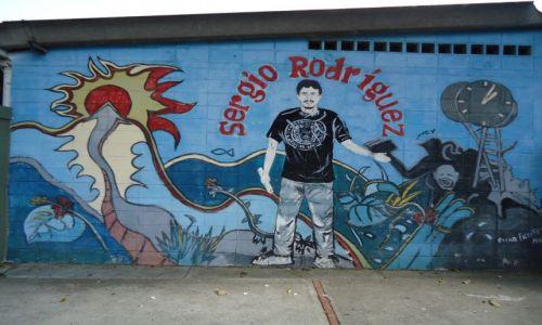 Zdjęcie WENEZUELA / Caracas / Caracas / Murale (2)