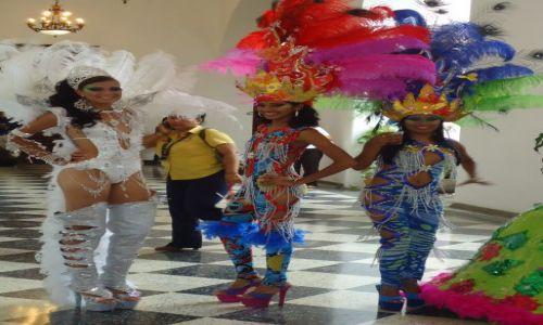 Zdjecie WENEZUELA / Bolivar / Ciudad Bolivar / Karnawałowe stroje (3)