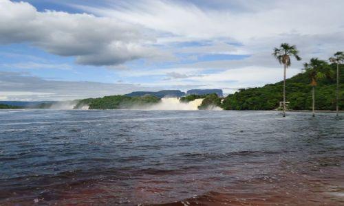 Zdjęcie WENEZUELA / Bolivar / Canaima / Laguna w Canamie