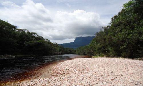 Zdjęcie WENEZUELA / Bolivar / Park Narodowy Canaima / Główna autostrada przez Gran Sabanę