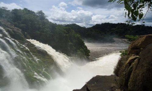 Zdjecie WENEZUELA / Bolivar / Rio Caura / �ywio�