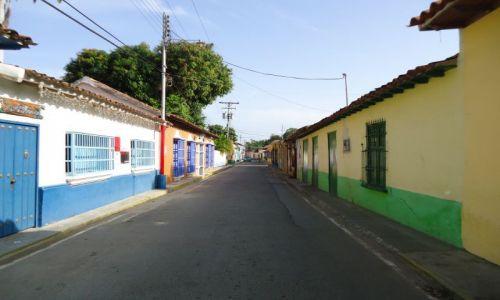 Zdjęcie WENEZUELA / Falcon / Puerto Colombia / Zabudowa Puerto Colombia