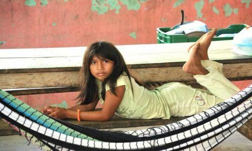 Zdjecie WENEZUELA / Rio Caura / Rio Caura / Dzieciaki z Rio