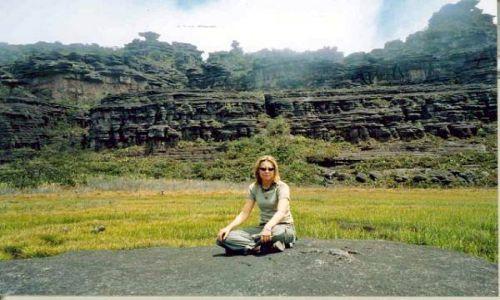 WENEZUELA / Gran Sabana / Roraima / Formy skalne na Roraimie