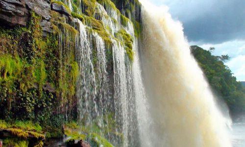 Zdjecie WENEZUELA / Gran Sabana / Park Canaima / Wenezuela - Z wizytą u Chaveza cd.