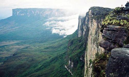 Zdjecie WENEZUELA / Roraima / Roraima / na krawedzi