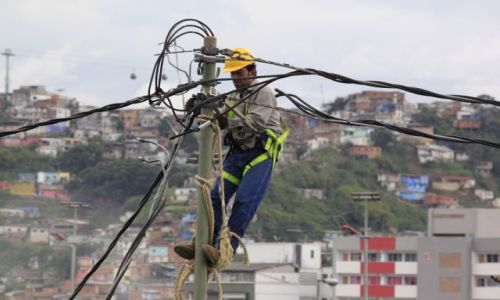 Zdjęcie WENEZUELA / Miranda / Caracas / elektryk