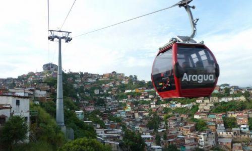 Zdjecie WENEZUELA / Miranda / Caracas / Metro Cable