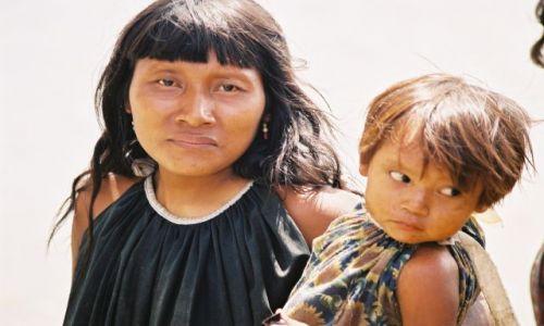 Zdjęcie WENEZUELA / - / Delta Orinoko / Indianie Warao.