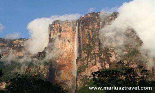 Zdjęcie WENEZUELA / gran sabana / salto del Angel / najwyzszy wdospad swiata