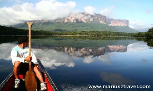 Zdjęcie WENEZUELA / gran sabana / rzeka Carrao / urzekajace piekno