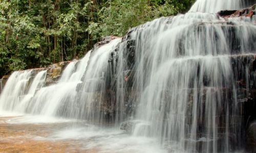 Zdjecie WENEZUELA / Gran  / Sabana / Jeden z wielu cudownych wodospadów