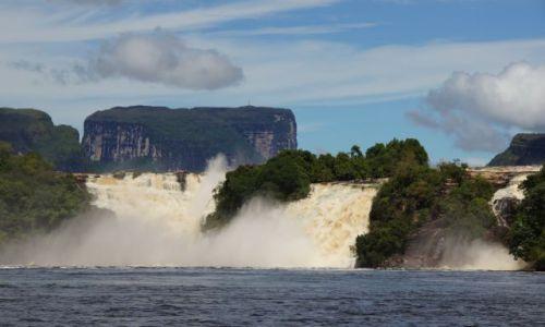 Zdjecie WENEZUELA / Canaima / National Park / Tepui i Salto Sapo