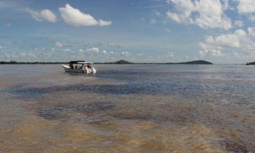 Zdjecie WENEZUELA / Puerto  / Ordaz / Tu rzeka Caroni