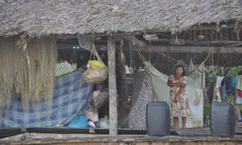 WENEZUELA / - / Orinoko / indianie z nad Orinoko