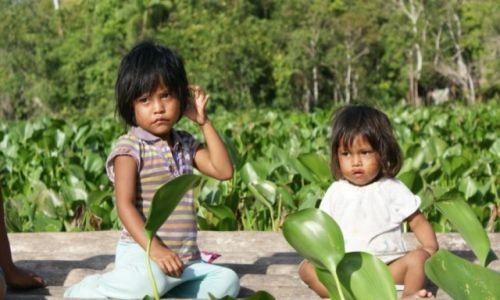 Zdjecie WENEZUELA / - / Orinoco / młode indianki