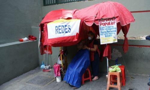 Zdjęcie WENEZUELA / - / Caracas / Fryzjer;]