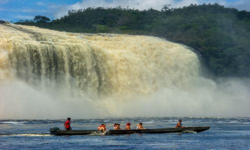 Zdjęcie WENEZUELA / CANAIMA / LAGUNA / DUŻO WODY DLA OCHŁODY :)
