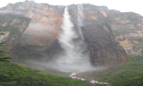 Zdjecie WENEZUELA / Gran Sabana / Salto Angel / Najwyższy wodospad na świecie Salto Angel (979 metrów)