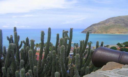 Zdjecie WENEZUELA / Isla Margarita / Widok z twierdzy Karola Boromeusza / Slady historii