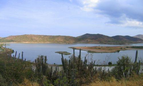 Zdjecie WENEZUELA / Isla Margarita / Laguna las Maritas / Zielona laguna