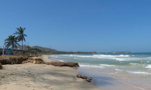 Zdjęcie WENEZUELA / I. Margarita / Na plaży / Plaża na I. Margarita