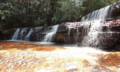 Zdjęcie WENEZUELA / Wenezuela / Wenezuela / Wodospad na Jaspisowym Potoku