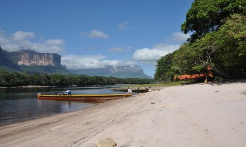 Zdjecie WENEZUELA / - / Park Narodowy Canaima / Pora na lunch