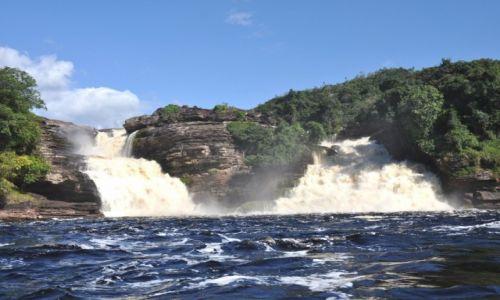 Zdjecie WENEZUELA / - / Park Narodowy Canaima / El Golondrina