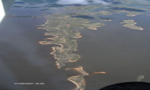 Zdjecie WENEZUELA / Canaima / Canaima / rzeka orinoko