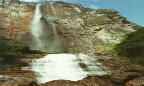 Zdjęcie WENEZUELA / Płd. Wenezuela / Park Narodowy Canaima / Salto de Angel