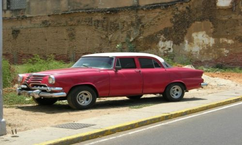 Zdjecie WENEZUELA / Venezuela / Maracaibo / Venezuela Car
