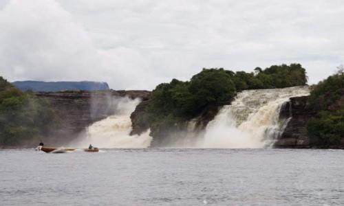Zdjecie WENEZUELA / Ameryka pd / Canaima / Wodospady