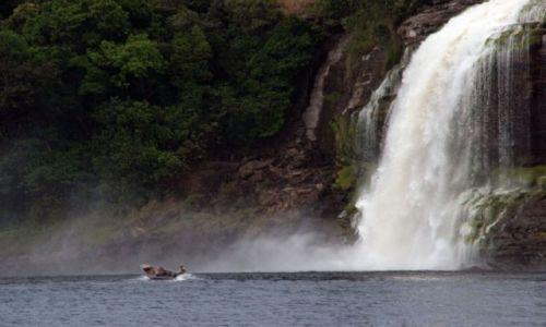 Zdjęcie WENEZUELA / brak / Wodospad SANTO ANGEL / * * *
