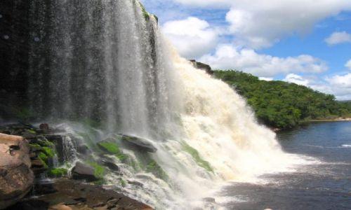 Zdjecie WENEZUELA / Canaima / Wodospad Sapo / Salto Sapo
