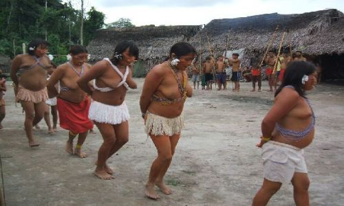 Zdjecie WENEZUELA / Amazonas / Rio Siapa / Yanomami