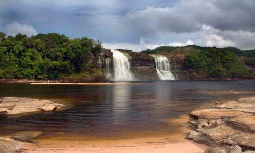 Zdjecie WENEZUELA / brak / Canaima wodospad EL SAPITO / Wodospady 1