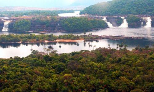 Zdjęcie WENEZUELA / brak / Canaima wodospad EL SAPITO / Wodospady 2