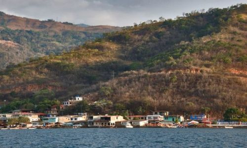 Zdjęcie WENEZUELA / brak / Miasteczko Machina nad M.Karaibskim / * * *