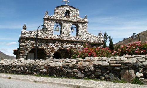 Zdjecie WENEZUELA / ANDY / Mucuchies / Kaplica San Rafael de Mucuchies