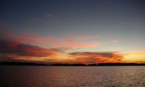 Zdjecie WENEZUELA / brak / Gdzieś w Delcie Orinoko / Zachód słońca nad Orinoko