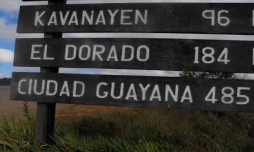Zdjecie WENEZUELA / u wrót  do Gran Sabany / trasa nr.10 / na  drodze do El Dorado