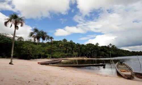 Zdjecie WENEZUELA / płd.wsch cz.kraju / laguna / Canaima