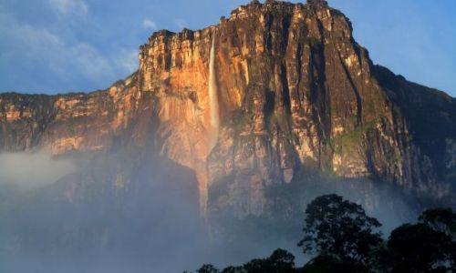 Zdjecie WENEZUELA / p�d.wsch cz.kraju / wodospad Salto Angel / Salto Angel