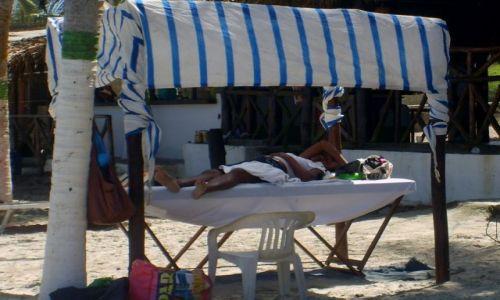 Zdjecie WENEZUELA / El Maguey / warsztat masażystki / ciągle maniana