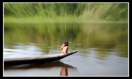 Zdjęcie WENEZUELA / Delta Orinoko / jeden z dopływów Orinoko / podróż