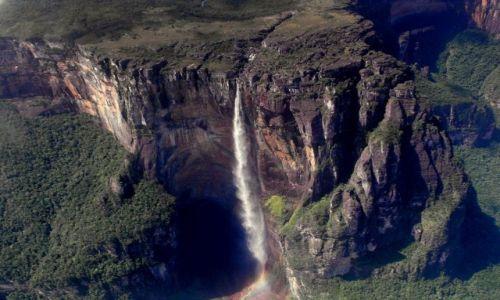 Zdjecie WENEZUELA / Canaima / park narodowy Canaima/wodospad / Konkurs- Salto Angel