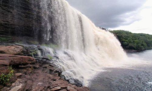 Zdjęcie WENEZUELA / Gran Sabana / Canaima National Park / wodospad